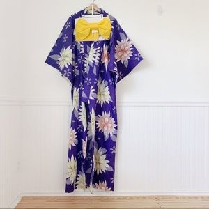 Dresses & Skirts - Traditional Japanese Floral Kimono
